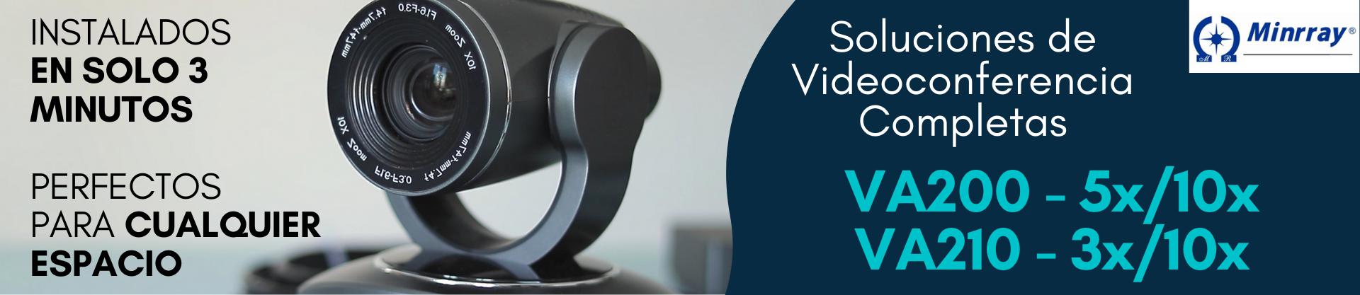 soluciones-videoconferencia-Minrray-VA200-VA210
