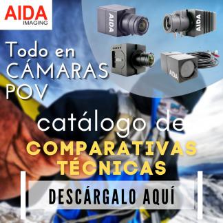 Comparativa cámaras Aida