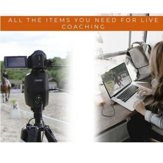 Pack PIXIO Live Coaching with CeeCoach Duo Kit and connection cable between the two