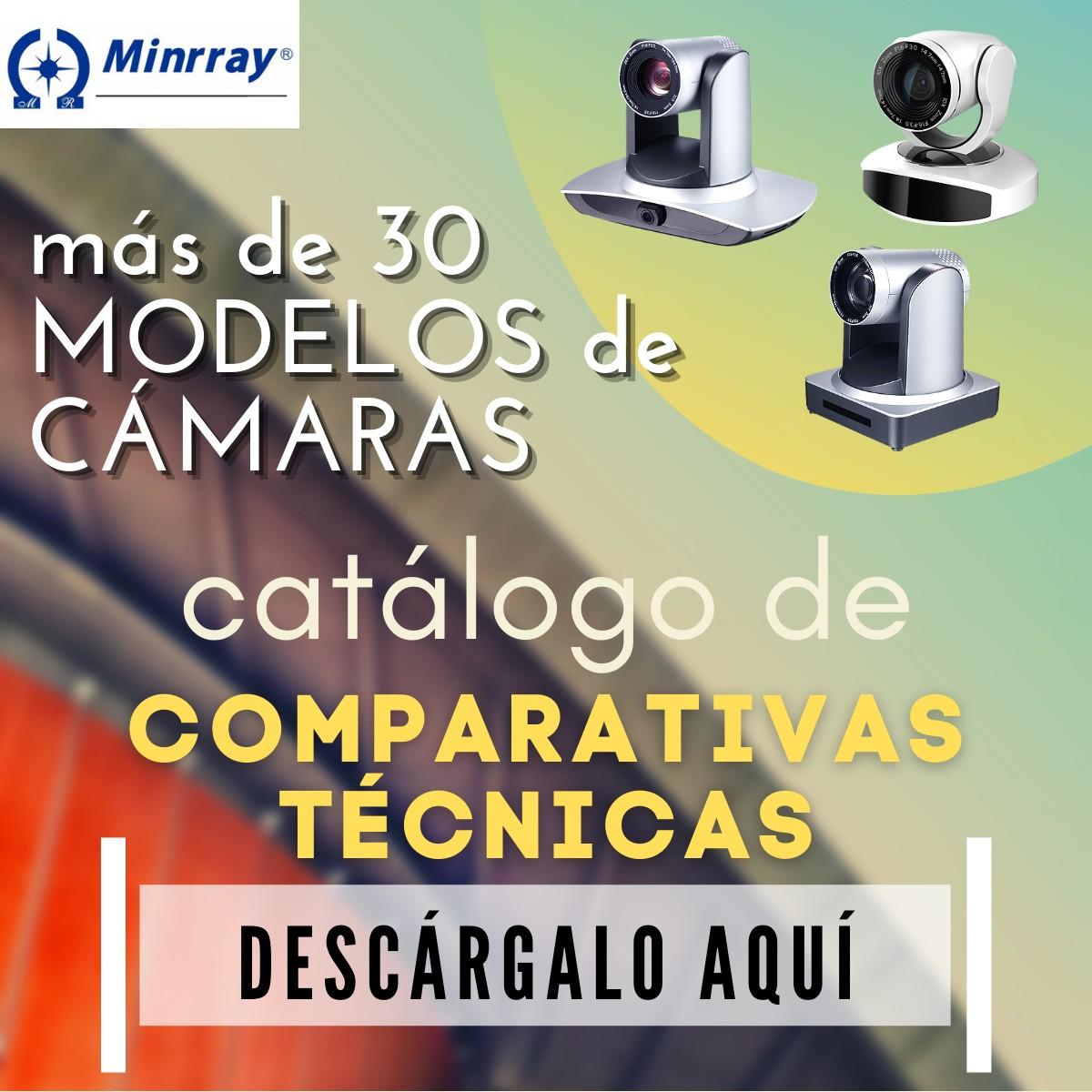 CATÁLOGO ESPECIFICACIONES TÉCNICAS CÁMARAS MINRRAY