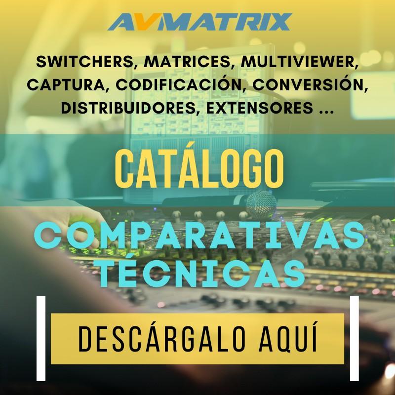 CATÁLOGO ESPECIFICACIONES TÉCNICAS AVMATRIX